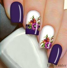40 - Nail art designs in different colors for you - 1 If you want to make a difference, we offer you nail designs. These nail designs will show you di. Nail Art Designs, Colorful Nail Designs, Nails Design, Nail Art Diy, Nail Arts, Summer Nails, Pedicure, You Nailed It, Different Colors