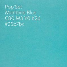 Pop'Set Maritime Blue 🏝  #papier #kreativnypapier Pop S, Blue, Paper