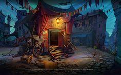 for game Bluebeard's Castle: Son of the Heartless https://www.behance.net/BladMoran