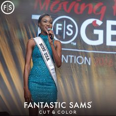 Transitioning from military life to civilian life is tough for anyone, especially women as explained by a very special guest speaker at the Fantastic Sams Moving Forward Together Convention 2016 in September.  Deshauna Barber, Miss USA https://www.fantasticsams.com/about/news/life-after-military-how-fantastic-sams-supports-women-veterans