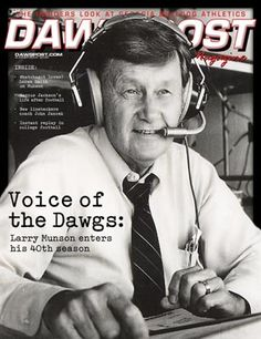 The Legendary Larry Munson, voice of the #Dawgs