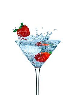 Strawberry cocktail by Alex Koloskov on 500px