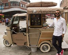 Food Inspiration  Ape Piaggio street food  gelati