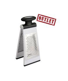 Rallador plegable de 2 caras Metaltex  Menaje de Cocina Rallador plegable de 2 caras Metaltex  Práctico Rallador plegable de 2 caras de acero inoxidable y plástico ABS de la marca Metaltex. superficie antideslizante