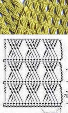 Watch This Video Beauteous Finished Make Crochet Look Like Knitting (the Waistcoat Stitch) Ideas. Amazing Make Crochet Look Like Knitting (the Waistcoat Stitch) Ideas. Crochet Motifs, Crochet Diagram, Crochet Stitches Patterns, Tunisian Crochet, Crochet Chart, Knitting Stitches, Crochet Designs, Stitch Patterns, Knitting Patterns