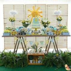 Bom dia com essa festa linda By @fazdeconta_salvador #catalogodefestas #festainfantil #aniversárioinfantil #sol #festasol #festademenino #catalogodefestasinfantis #partyideas #partydecor