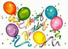 Happy Birthday .