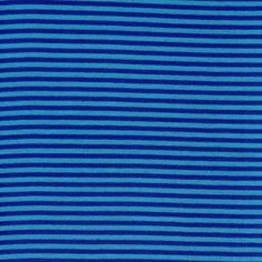 Stripes, Dark Blue: Rib Cuff