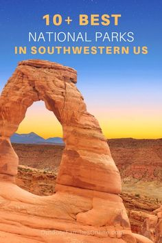 We created a USA road trip planner for the 10 best U.S. National Parks in the Southwest so you can make the most of your road trip and get back to nature.