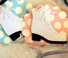 A Little Loveliness: Ice Skating Birthday Party