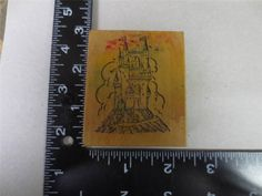 PSX E 205 Fairy Tale Medieval Castle Wizard Fantasy Wood Mounted Stamp   eBay