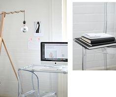 Minimalist workspace courtesy of love aesthetics Interior Work, Interior And Exterior, Interior Design, Love Aesthetics, Diy Desk, Working Area, Home Decor Inspiration, Designer, Home Goods
