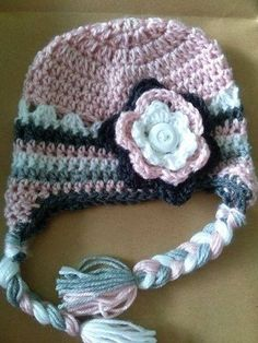 Baby / small child hat. $20 + postage. Happy to make to order. https://www.facebook.com/TrinityDesigns