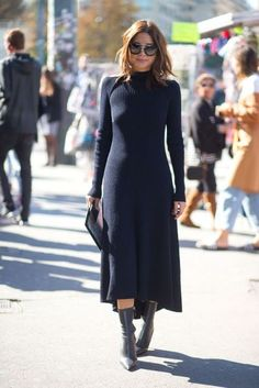 ribbed knit dress 1