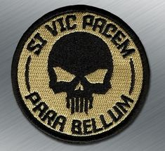 Si vis pacem, para bellum. If you wish for peace, prepare for war.