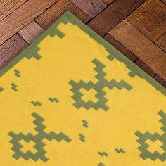 Tapis jacquard, Casa Lopez, modèle Malinche, sur mesure, réversible, personnalisation des couleurs, casalopez.com