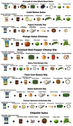 10 awesome & EASY dips