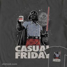 Vader Casual Friday t-shirt