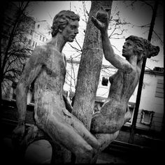 Фонтан «Адам и Ева» (Fountain «Adam and Eve»)