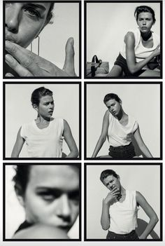 contact sheet + black and white + fashion photography + Alba Galocha Self Portrait Photography, Film Photography, Fashion Photography, Photography Ideas, Mise En Page Lookbook, Foto Pose, Strike A Pose, Photojournalism, Belle Photo