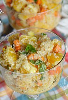Quinoa Summer Salad #freezercooking #oamc #sidedish