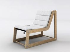 OYD Design's Flatpack FL Inout Chair is Made From Recycled Wood Waste
