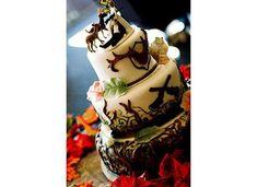 Camo wedding cake :)