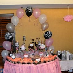 Cute candy station