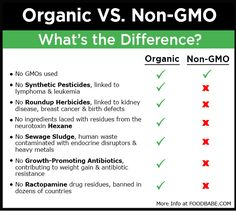 The Shocking Difference Between Organic & Non-GMO Labels – It's Huge! It's crucial to understand the difference if you want to pick out the healthiest and safest food for you and your family.