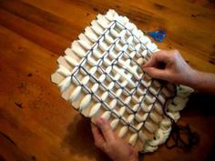 Butterfly Loom Magic Board Pattern 1~ unusual quick and easy way to creat…