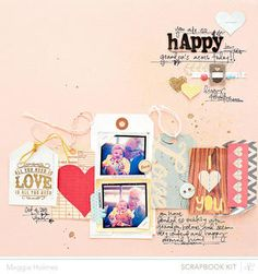 Happy by maggie holmes - Studio Calico April Kits