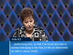 Joyce Meyer - The Way to Live (1)  Mama J has burned down many a barn as she brilliantly tells us how to apply God's Word to achieve abundant living and excellence for Christ.