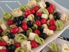 Tortellini Skewers - This is a fabulous appetizer and easy to make!