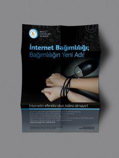 internet bağımlılığı by Fatih Cetin, via Behance