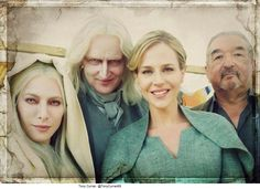 Stahma and Datak Tarr, Amanda Rosewater, Rafe MacCawley.  The Power and the Strife.  Defiance