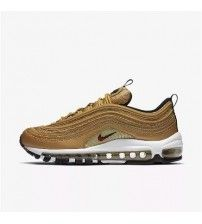 new styles cbe0a 9b15a Nike Air Max 97 OG QS Womens Metallic Gold Shoes Metallic Gold Shoes, Air  Max