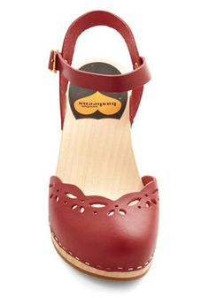 Journaling Journey Heel in Red, #ModCloth
