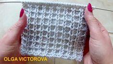 Плотный Рельефный узор Вязание спицами 314