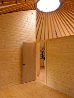 Yurt Interior Walls