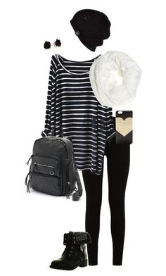 """Untitled #253"" by hjpnosser ❤ liked on Polyvore featuring 7 For All Mankind, Betsey Johnson, Refresh, Mudd, J.Crew and UGG Australia"
