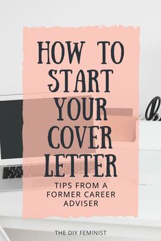 These tips on how to start and address your cover letter will help you land your dream job, apply for the internship, or complete your career change! This modern advice from a former career professional will give you the answers and examples you need to w Cover Letter Tips, Writing A Cover Letter, Cover Letter For Resume, Cover Letters, Job Cover Letter Examples, Cover Letter Design, Job Resume, Resume Tips, Resume Examples