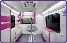 -Repinned- Mobile grooming interior.