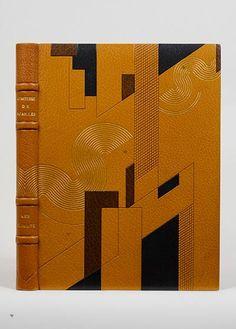 NOAILLES (Anna de).  Les Climats. Paris, Société du Livre contemporain, 1924. In-4.  BINDING: Pierre Legrain