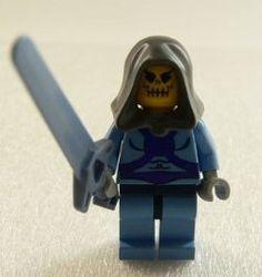 Skeletor Custom LEGO Minifig
