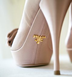 Not getting married again but I WANT THESE SHOES! Bridal Snob • Prada | Photography by Anna & Spencer Photography