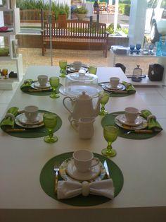 Louçaria e Cia: Mesa de Café - Limão Siciliano
