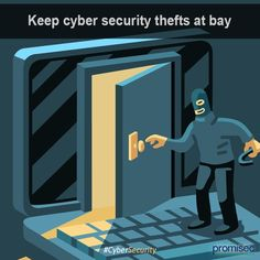 Keep #Cybersecurity thefts at Bay