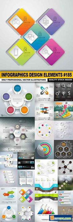Infographic and diagram business design vector 45   Vector ...