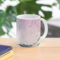 """""""Great Wave Aesthetic"""" Mug by ind3finite 