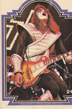 KISS TRADING CARD #21 ACE FREHLEY